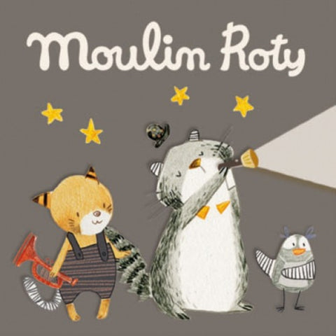 Moulin Roty storybook torch Les Moustaches