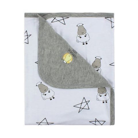 Baa Baa Sheepz Double Layer Blanket - Big Star & Sheepz