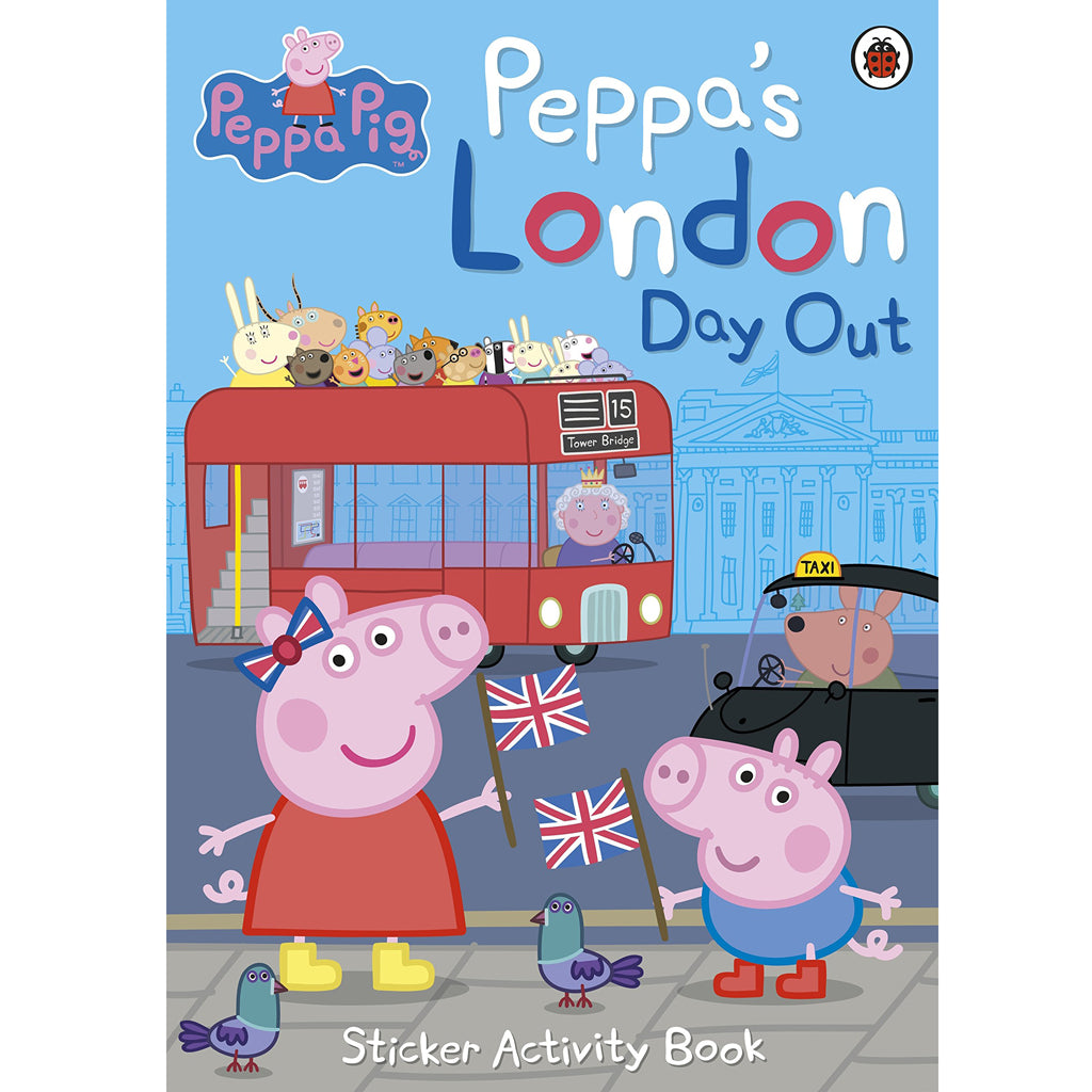 Peppa Pig London Dayout Sticker Activity Book