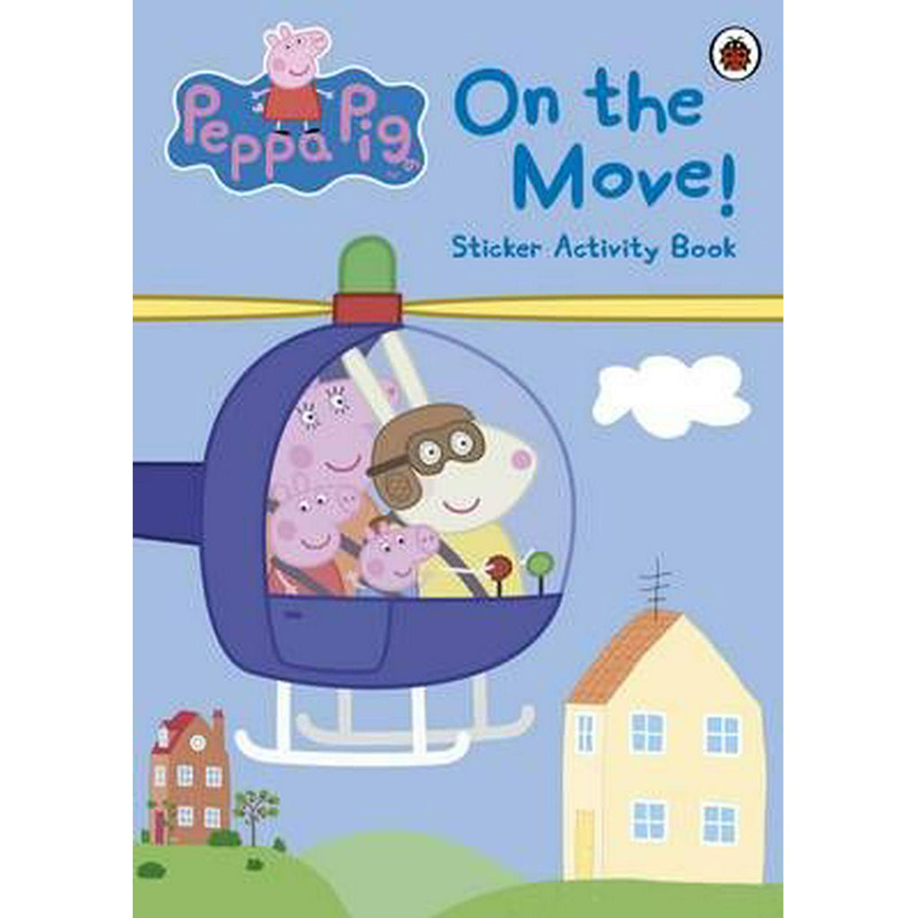 Peppa Pig On The Move! Sticker Activity Book