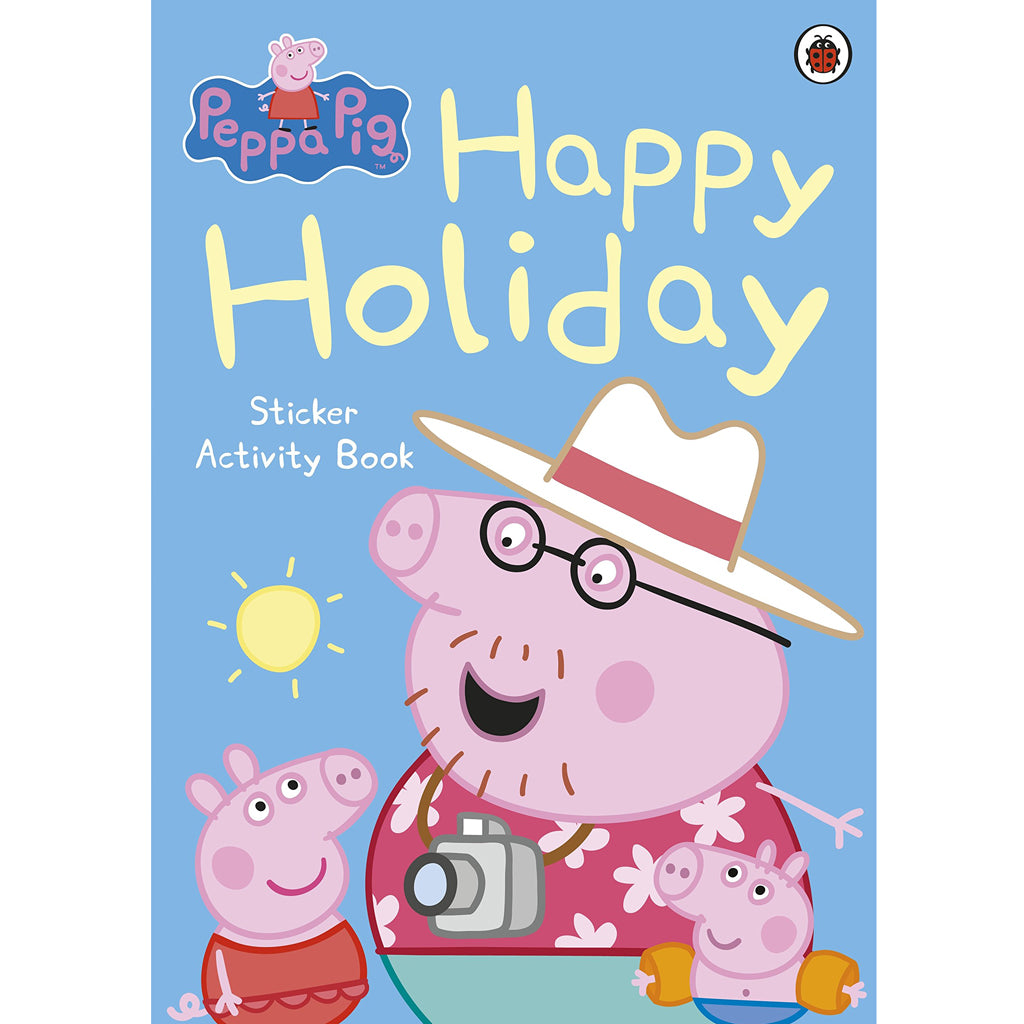 Peppa Pig Happy Holiday Sticker Activity Book