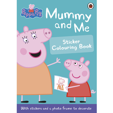 Peppa Pig Mummy & Me Sticker Coloring Book