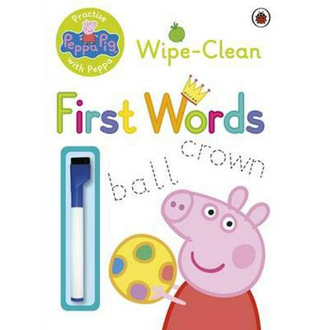 Peppa Pig Wipe-Clean 1st Words