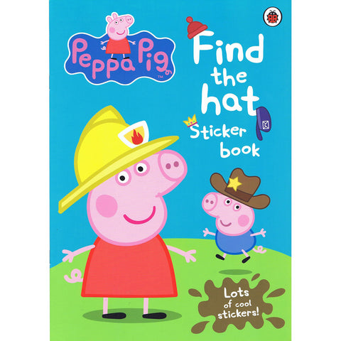 Peppa Pig Find the Hat Sticker Book