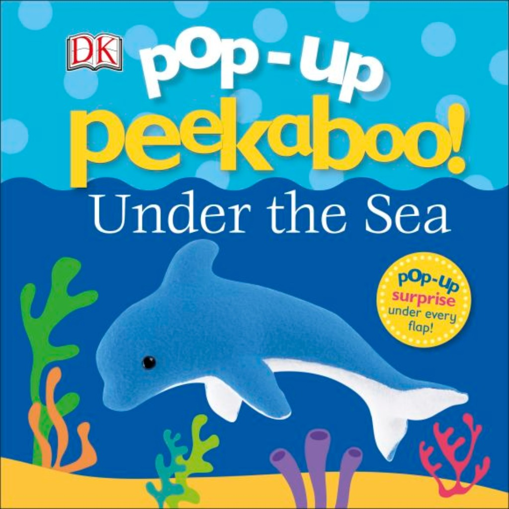 DK Books Pop-Up Peekaboo! Under The Sea