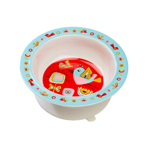 Sugarbooger Birds & Butterflies Suction Bowl