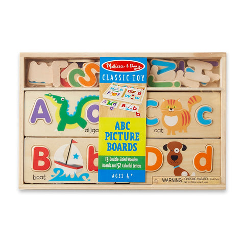 Melissa & Doug ABC Picture Boards 4 years+