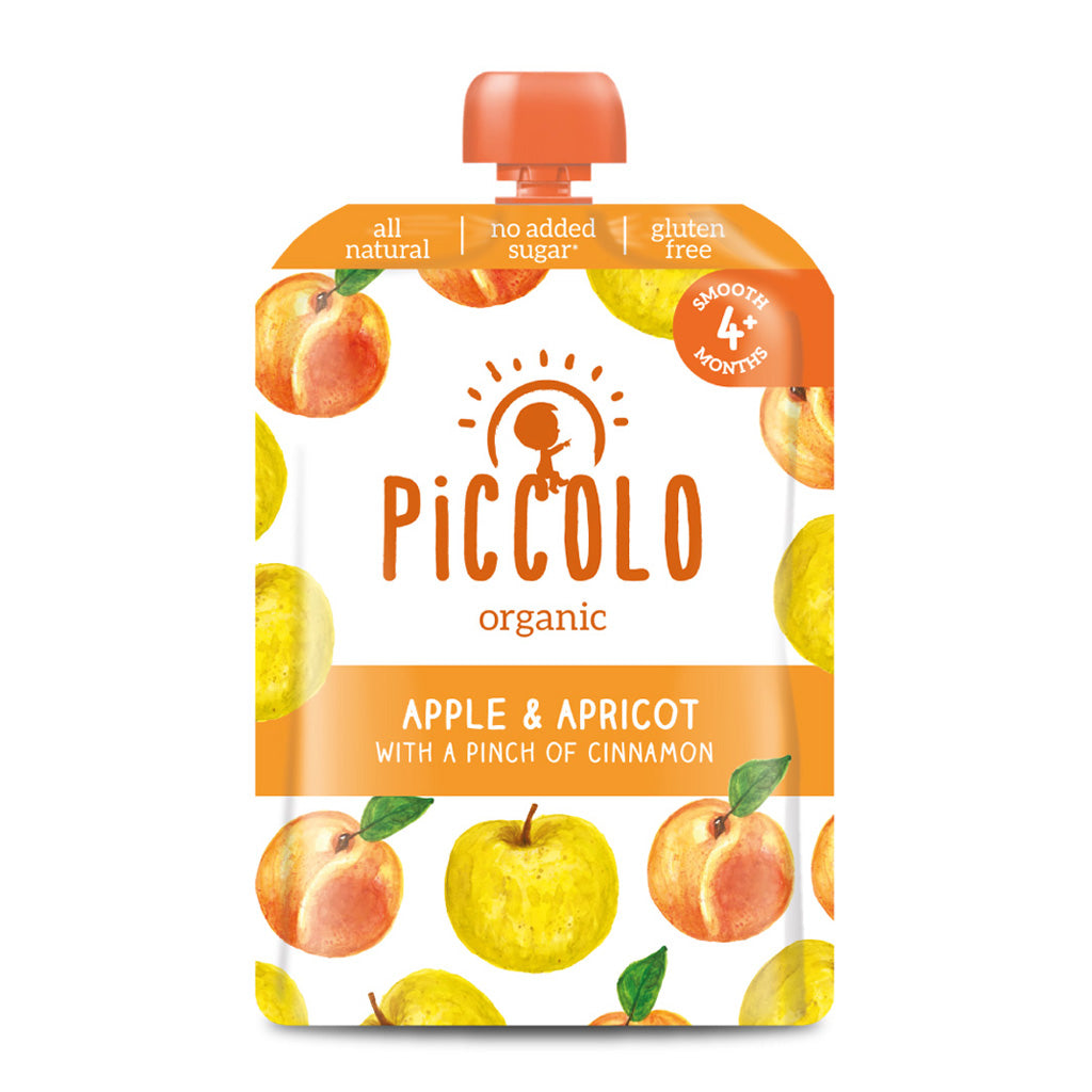 Piccolo Apple & Apricot with a Pinch of Cinnamon