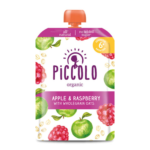 Piccolo Apple & Raspberry with Wholegrain Oats