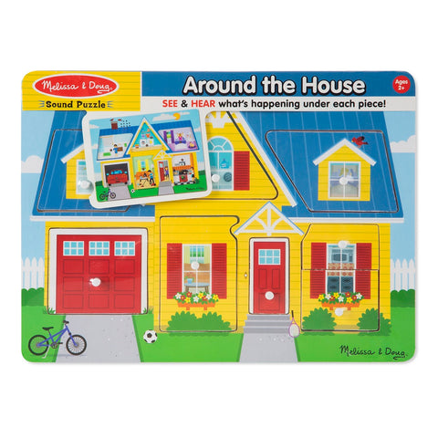 Melissa & Doug Around the House Sound Puzzle 2 years+