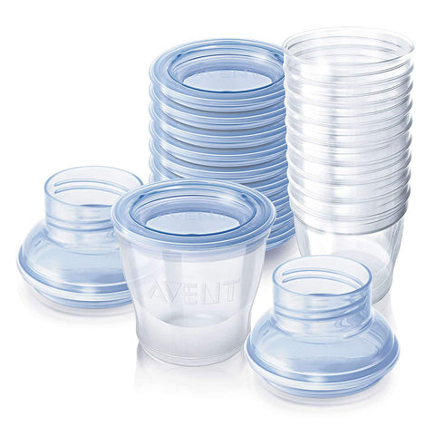 Avent Breast Milk Storage Cups - 180ml