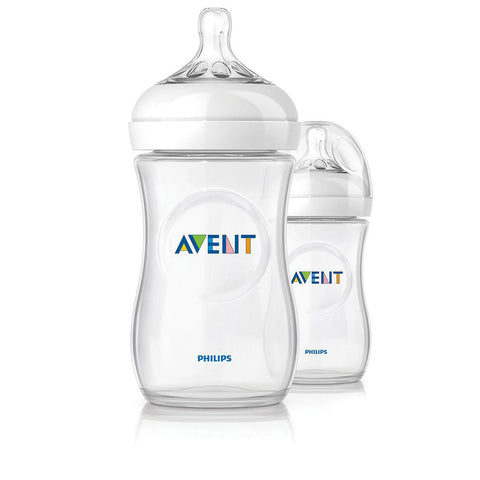 Avent Natural Bottle Twin Pack - 260ml