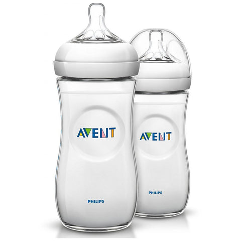 Avent Natural Bottle Twin Pack - 330ml
