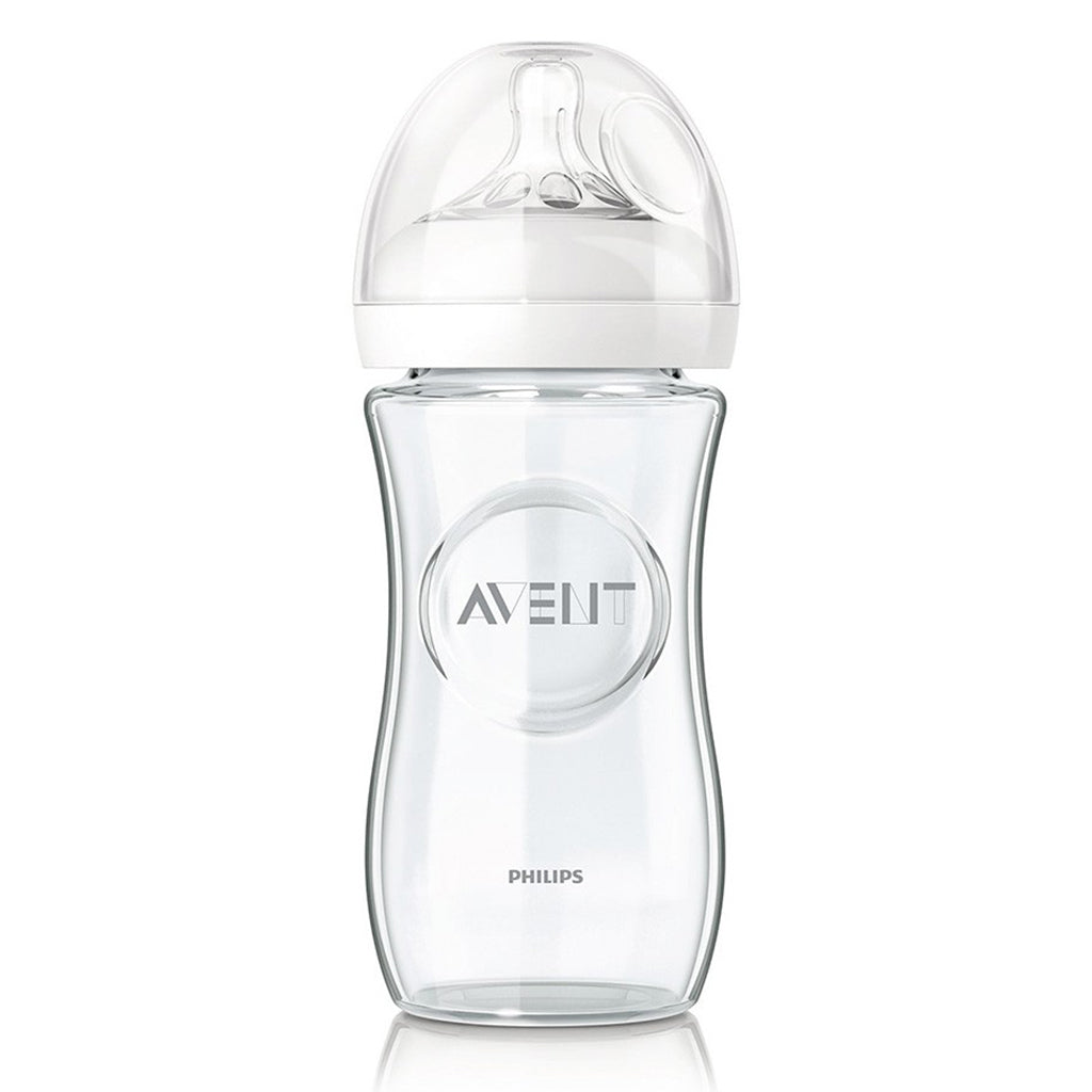 Avent Natural Glass Bottle - 240ml