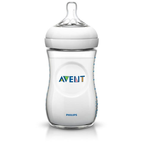Avent Natural Single Bottle - 260ml