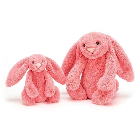Jellycat Bashful Coral Bunny Small