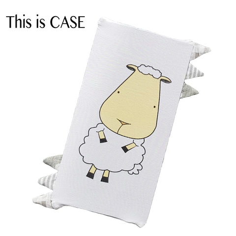 Baa Baa Sheepz Bedtime Buddy Case Front & Back Sheepz