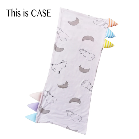 Baa Baa Sheepz Bed-Time Buddy™ Case Big Moon & Sheepz with Stripe Tag