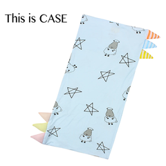 Baa Baa Sheepz Bed-Time Buddy™ Case Big Star & Sheepz & Stripe tag