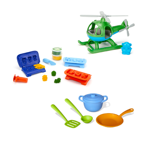 Green Toys Activity Set for Kids 2Y+