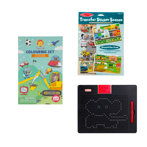 Multi Brand Activity Set for Kids 4Y+
