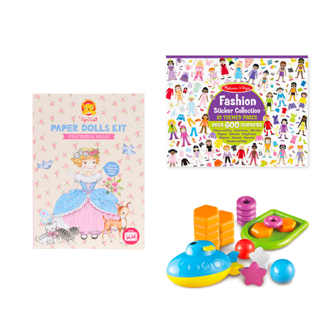 Multi Brand Activity Set for Kids 5Y+