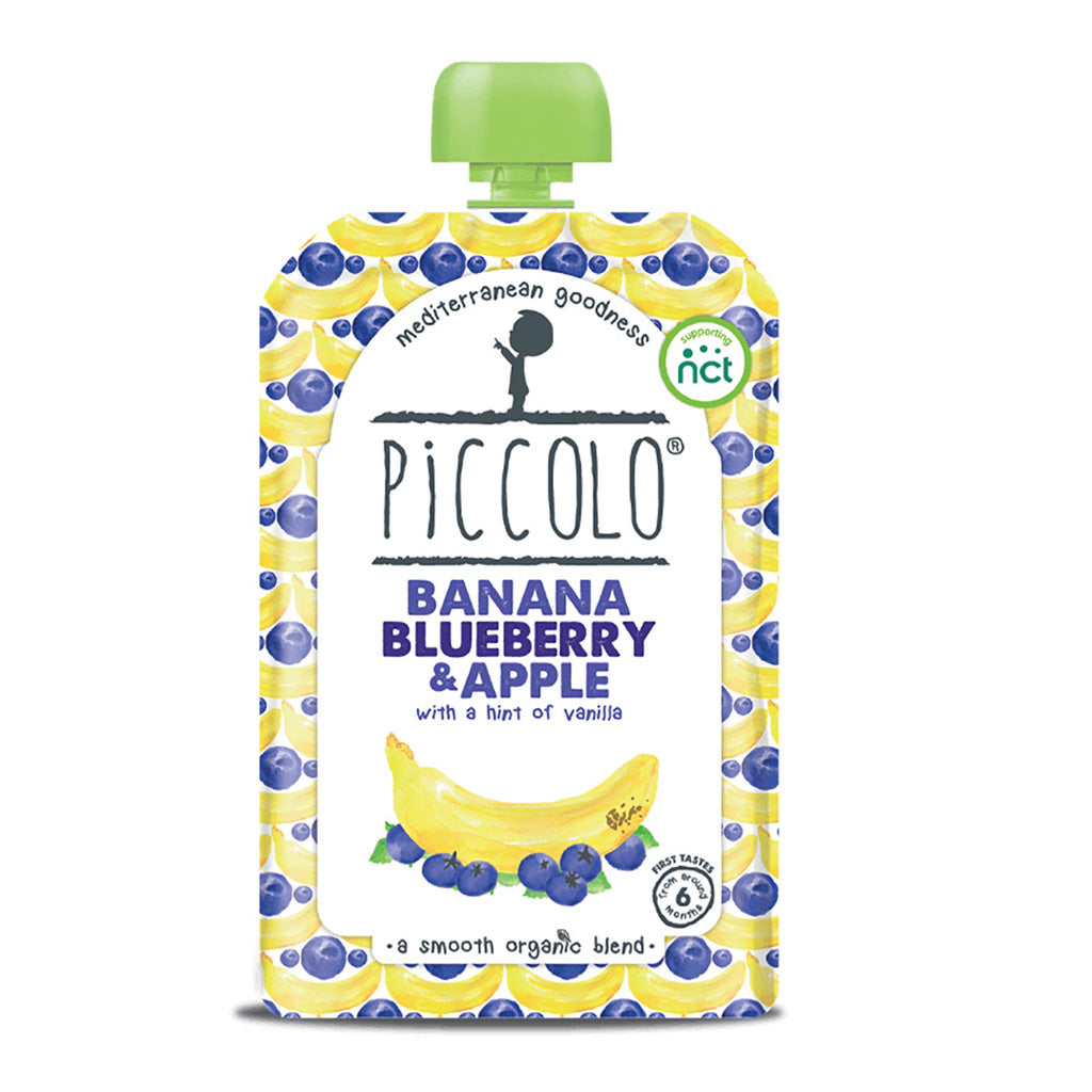 Piccolo Banana Blueberry & Apple with a Hint of Cinnamon