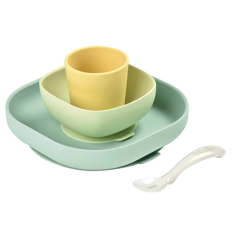 Beaba Silicone 4 Piece Meal Set