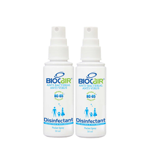 Biocair Disinfectant Anti-Bacterial Pocket Spray