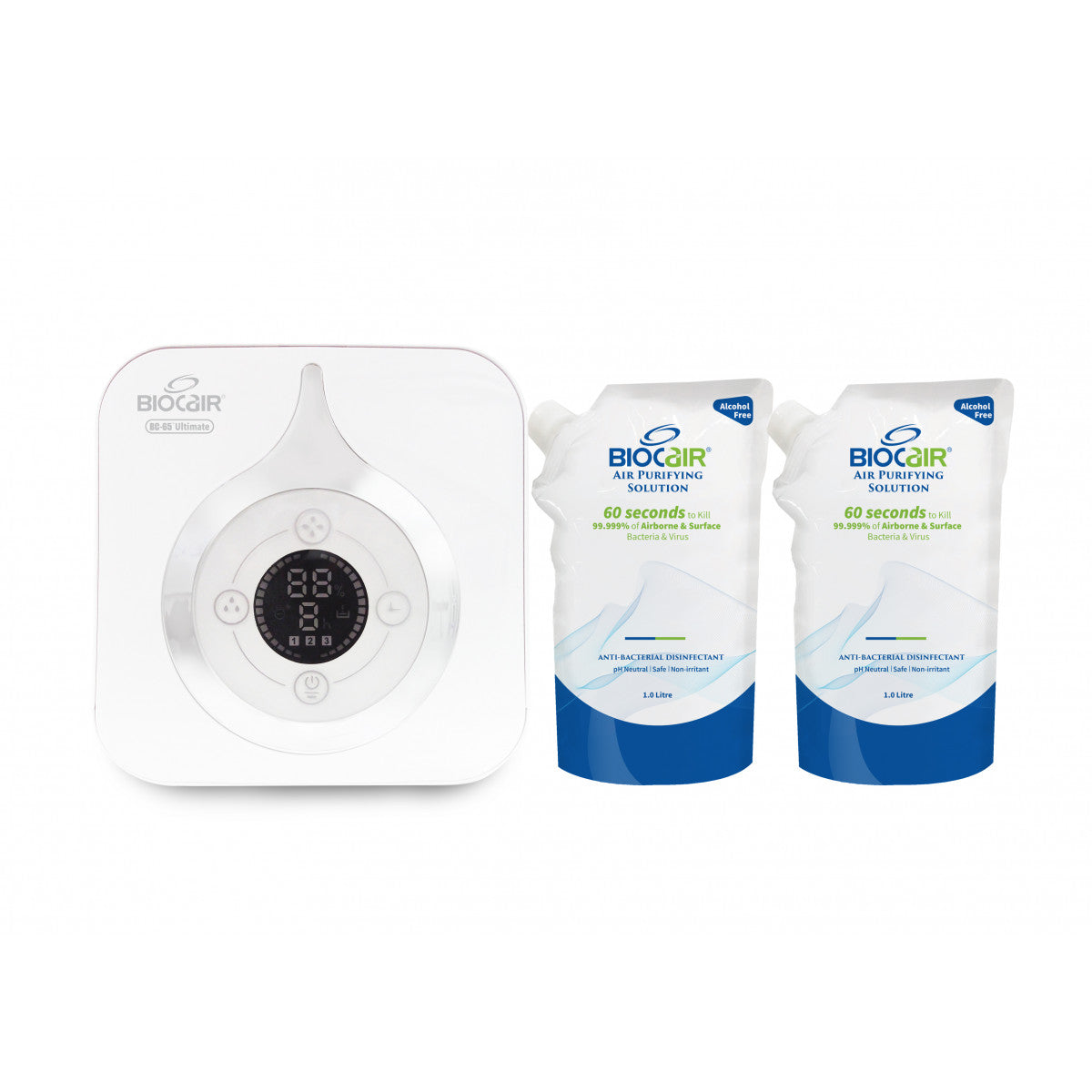 BioCair BC-65 Ultimate Disinfection Bundle