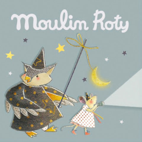 Moulin Roty storybook torch Il était une fois