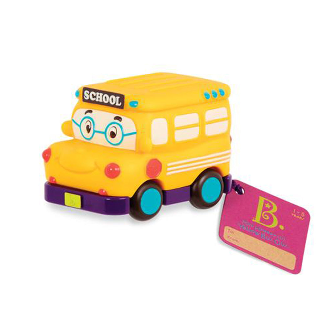 B.Toys Mini Pull Back Vehicle