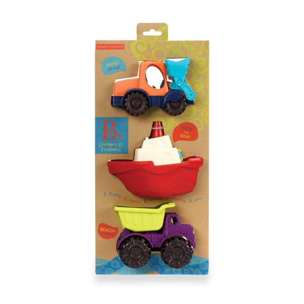 B.Toys Mini Vehicles 3 Piece Set