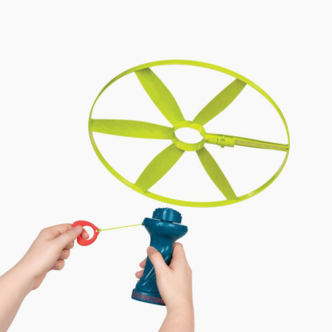 B.Toys Disc-Oh Flyer, Skyrocopter With Flying Light-Disc Up