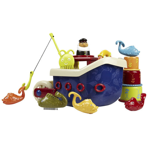B.Toys Fish N Splish Bath Boat
