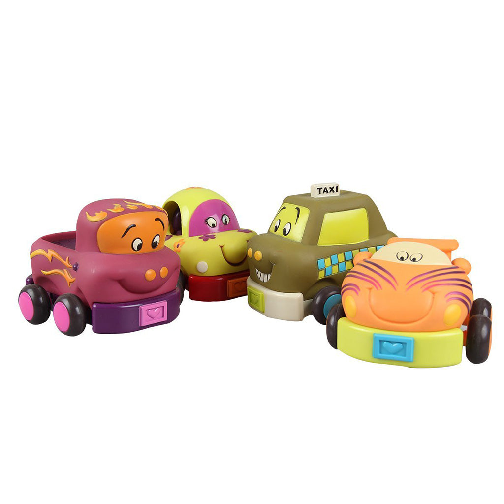 B.Toys Wheeee-Is! Soft Cars