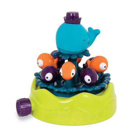 B.Toys Whirly Whale Sprinkler