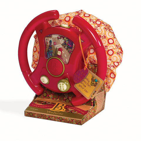 B.Toys YouTurns Driving Wheel