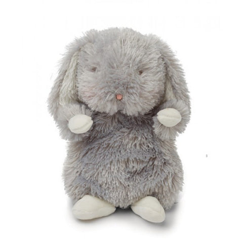 Bunnies by the Bay Wee Bloom Bunny Plush - Grey