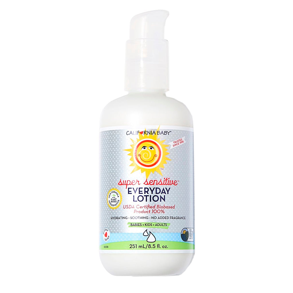 California Baby Super Sensitive™ (No Fragrance) Everyday Lotion 8.5oz