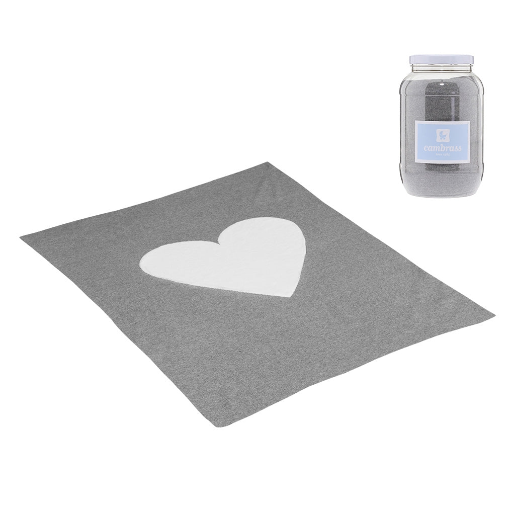 Cambrass Cotton Cuore Blanket