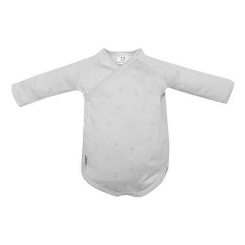 Cambrass Body Crossed Long Sleeve Small Hearts