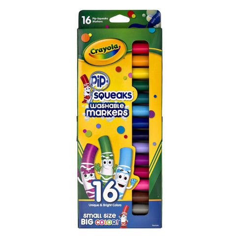Crayola Pip-Squeak Washable Markers (16 Count)