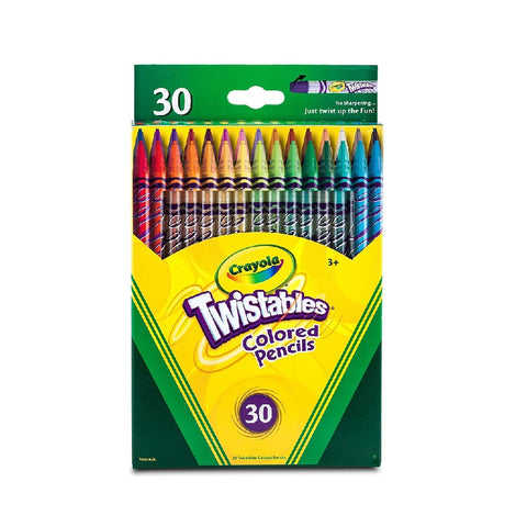 Crayola 30 Count Twistable Coloured Pencils