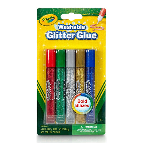 Crayola - Sparkle Glue 5 count