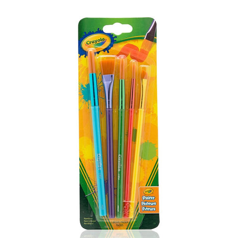 Crayola 5 Count Brushes