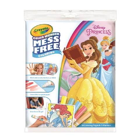 Crayola Colour Wonder Overwrap - Disney Princess