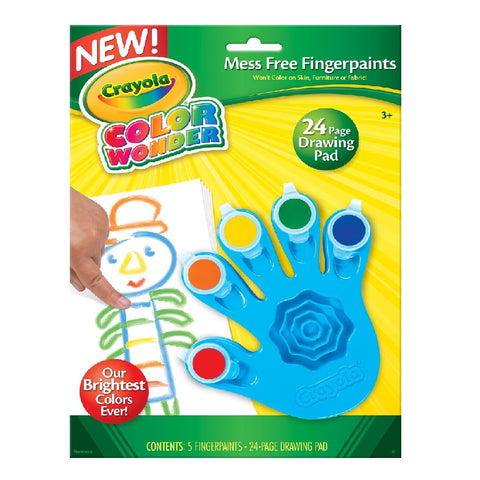 Crayola - Colour Wonder Finger Paint
