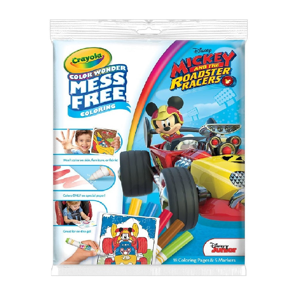 Crayola Colour Wonder Colouring Pad and Markers - Mickey Mouse