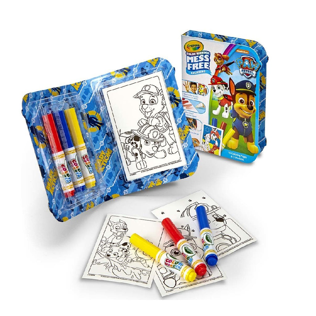 Crayola Colour Wonder, On the Go, Paw Patrol